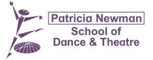 Patricia Newman School of Dance and Theatre logo