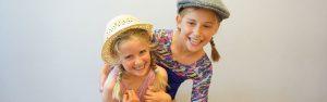 Summer theatre school pupils