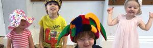Children at a Little Poppets class