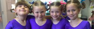 Ballet pupils